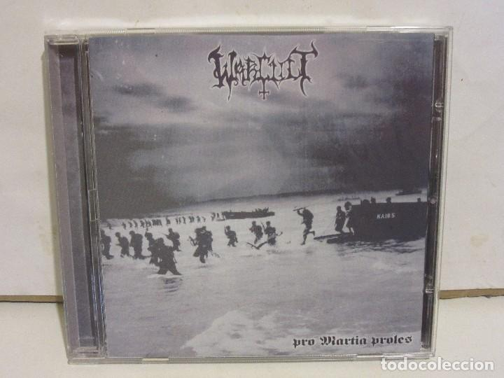 WARCULT - PRO MARTIA PROLES - BLACK METAL ESPAÑOL - 2008 - NM+/EX (Música - CD's Heavy Metal)