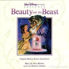 CDs de Música: BEAUTY AND THE BEAST / ALAN MENKEN CD BSO. Lote 113445343