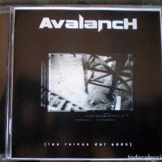 CDs de Música: AVALANCH – LAS RUINAS DEL EDÉN CD 2004 HEAVY METAL, POWER METAL . Lote 113477755