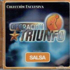 CDs de Música: OPERACIÓN TRIUNFO. COLECCIÓN SALSA. Lote 113484959