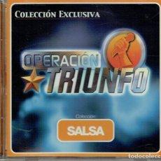 CDs de Música: OPERACIÓN TRIUNFO. COLECCIÓN SALSA. Lote 113485015