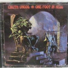 CDs de Música: CIRITH UNGOL - ONE FOOT IN HELL - HEAVY METAL - 1999 - GERMANY - EX+/EX+. Lote 113488643