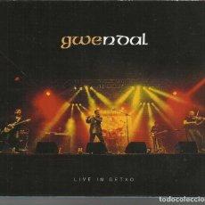 CDs de Música: GWENDAL - LIVE IN GETXO - CD ACTOS 2016. Lote 113498039
