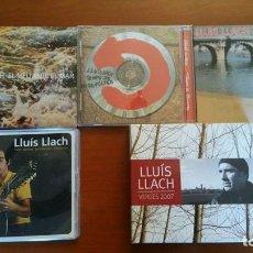 CDs de Música: COLECCION 4 CD + UNO TRIPLE DE LLUIS LLACH. Lote 113503531