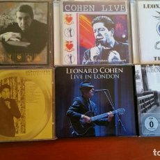 CDs de Música: COLECCION 4 CD + DOS DOBLES DE LEONARD COHE. Lote 113504799