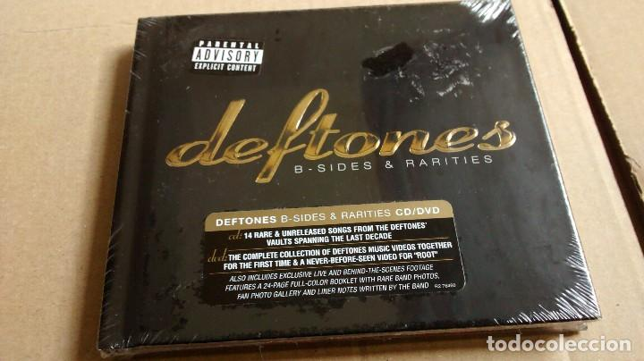 (SIN ABRIR) DEFTONES -B-SIDES AND RARITIES - (LIBRO CD + DVD) (Música - CD's Heavy Metal)