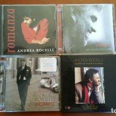 CDs de Música: COLECCION 4 CD + UNO TRIPLE DE ANDREA BOCELLI. Lote 113506023