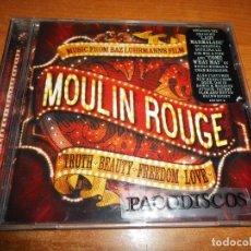 CDs de Música: CHRISTINA AGUILERA MOULIN ROUGE BANDA SONORA CD NICOLE KIDMAN DAVID BOWIE MASSIVE ATTACK BONO U2. Lote 221749971