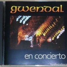 CDs de Música: GWENDAL - GWENDAL EN CONCIERTO (CD) 1981 - 7 TEMAS. Lote 113513187