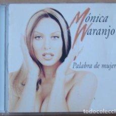 CDs de Música: MONICA NARANJO - PALABRA DE MUJER (CD) 1997 - 10 TEMAS. Lote 113529183