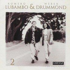 CDs de Música: ROMERO LUBAMBO & WEBER DRUMMOND - TWO (CD). Lote 113592983