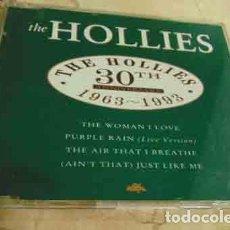CDs de Música: THE HOLLIES – 30TH ANNIVERSARY 1963-1993 - CD EP 4 TEMAS. Lote 113608383