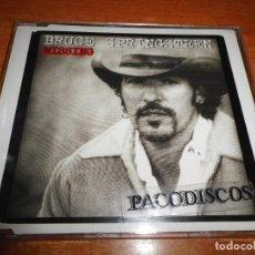 CDs de Música: BRUCE SPRINGSTEEN MISSING CD MAXI SINGLE DEL AÑO 1996 ESPAÑA CONTIENE 4 TEMAS. Lote 224165258