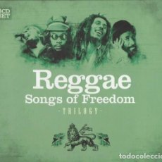CDs de Música: REGGAE * 3 CD * SONGS OF FREEDOM TRILOGY * LTD DIGIPACK * PRECINTADO *. Lote 113616099