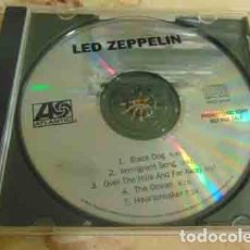 CDs de Música: LED ZEPPELIN - CD PROMO 5 TEMAS. Lote 113642499