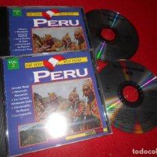 CDs de Música: THE VERY BEST FROM PERU VOL.1 Y 2 2CD 1995 RECOPILATORIO E.CARRASCO + CALCHAY+TROTE CHILA+ETC. Lote 113662055