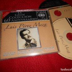 CDs de Musique: LUIS PEREZ MEZA 40 VERSIONES ORIGINALES 2CD 2007 EDICION MEXICO. Lote 113662787
