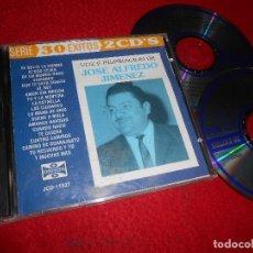 CDs de Música: JOSE ALFREDO JIMENEZ VOZ E INSPIRACION DE JOSE ALFREDO JIMENEZ 2CD 1995 EDICION AMERICANA USA. Lote 113664715