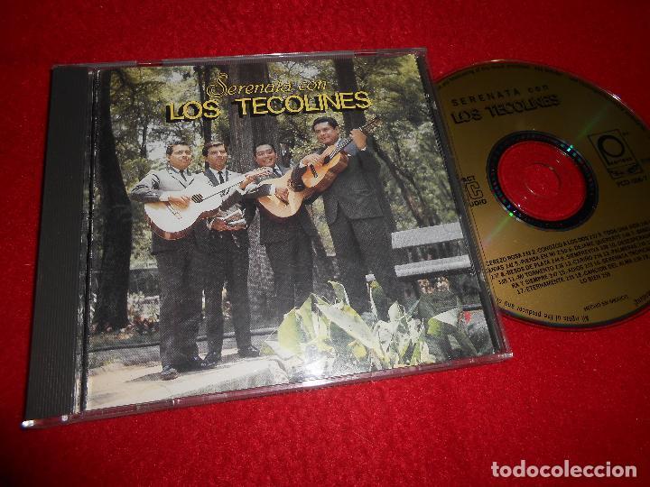 LOS TECOLINES SERENATA CD 1988 EDICION MEXICO (Música - CD's Latina)