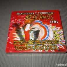 CDs de Música: RANCHERAS Y CORRIDOS MEXICANOS - 2 CD'S - PRECINTADOS - GUADALAJARA - LA BAMBA - EL REY .... Lote 113672887