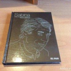 CDs de Música: SABINA #PALABRAS HECHAS CANCIONES#FISICA Y QUÍMICA# LIBRO CDS. . Lote 113678883