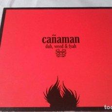 CDs de Música: CAÑAMAN -DUB, WEED & FYAH- CD REAGGE. Lote 113688443