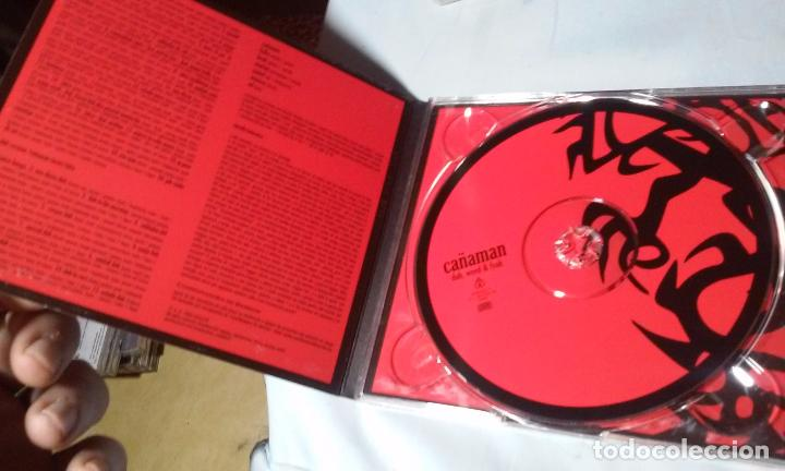 CDs de Música: CAÑAMAN -DUB, WEED & FYAH- CD REAGGE - Foto 5 - 113688443