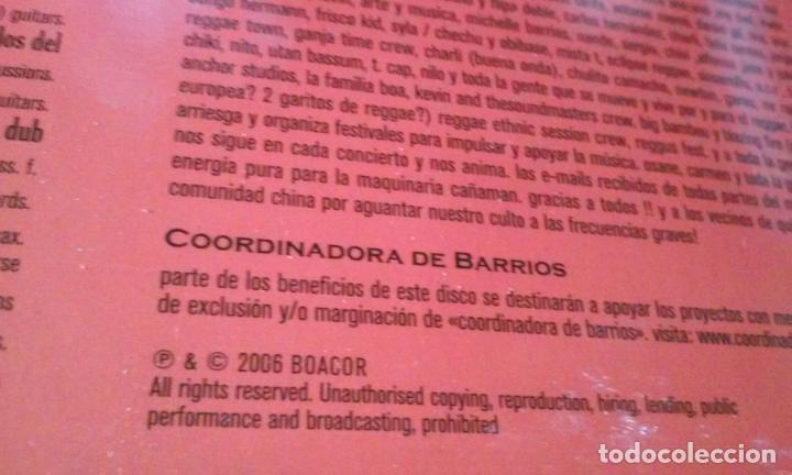CDs de Música: CAÑAMAN -DUB, WEED & FYAH- CD REAGGE - Foto 8 - 113688443