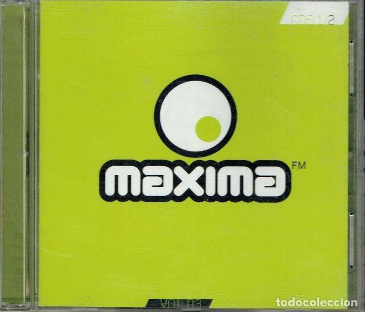 MÁXIMA VOL 03 CDS 1 2 (Música - CD's Otros Estilos)