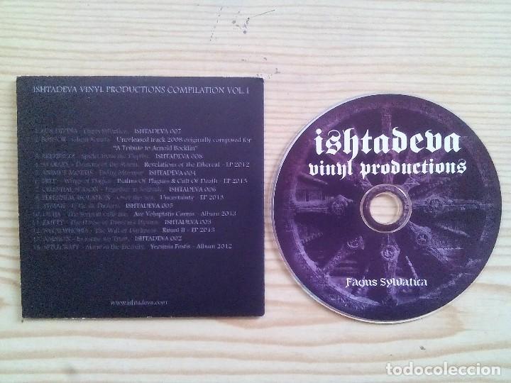 ISHTADEVA VINYL PRODUCTIONS COMPILATION VOLUMEN I - FAGUS SYLVATICA - VARIOS CD (Música - CD's Heavy Metal)