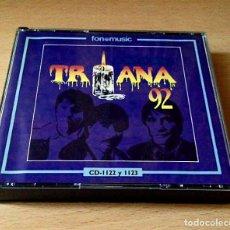 CDs de Música: TRIANA - 18 AÑOS DE MUSICA - DOBLE CD 1991. Lote 113711647