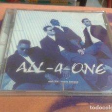 CDs de Música: CD ALL-4-ONE ( AND THE MUSIC SPEAKS ) 1995 WARNER GERMANY PRECINTADO. Lote 113716595