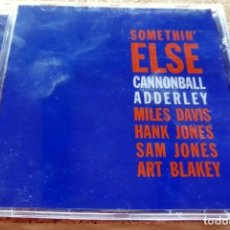 CDs de Música: CD -THE BLUE NOTE COLLECTION - SOMETHIN ELSE JULIAN CANNONBALL ADDERLEY(VER FOTO CONTRAPORTADA). Lote 113716979