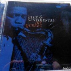 CDs de Música: CD -THE BLUE NOTE COLLECTION - BLUE AND SENTIMENTAL IKE QUEBEC (VER FOTO CONTRAPORTADA). Lote 113717831