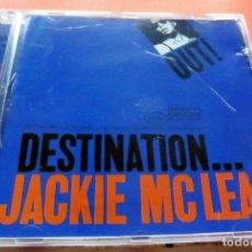 CDs de Música: CD -THE BLUE NOTE COLLECTION - DESTINATION OUT JACKIE MCLEAN (VER FOTO CONTRAPORTADA). Lote 113718583