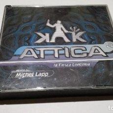 CDs de Música - Attica La Fiesta Continúa 2 cd +1 cd mix techno electronica trance hard house - 113731947