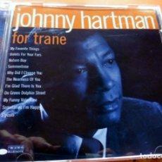 CDs de Música: CD -THE BLUE NOTE COLLECTION - FOR TRANE JOHNNY HARTMAN (VER FOTO CONTRAPORTADA). Lote 113764803
