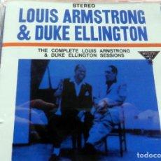 CDs de Música: CD -THE BLUE NOTE COLLECTION - LOUIS ARMSTRONG & DUQUE ELLINGTON (VER FOTO CONTRAPORTADA). Lote 113768791