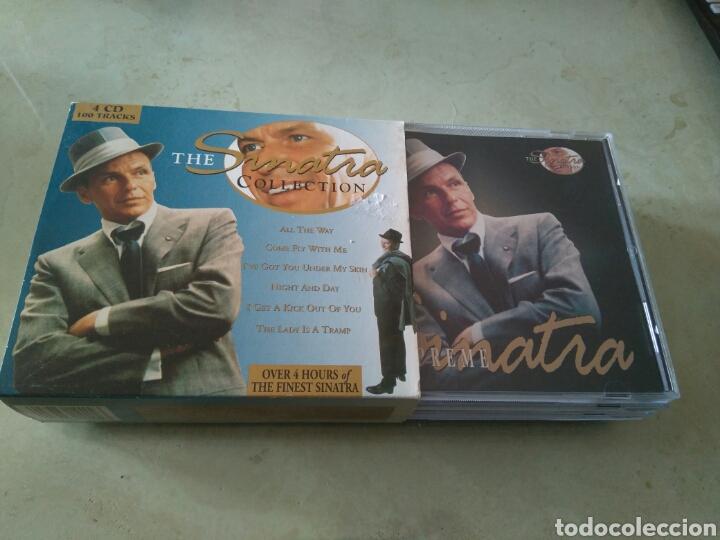 THE SINATRA COLLECTION - 4 CDS - MAS DE 4 HORAS DE MÚSICA (Música - CD's Jazz, Blues, Soul y Gospel)