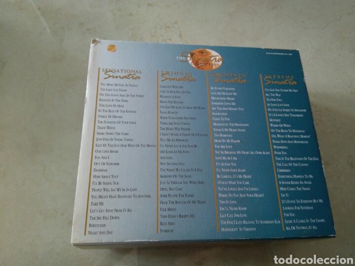 CDs de Música: The Sinatra collection - 4 Cds - Mas de 4 horas de música - Foto 2 - 113814122
