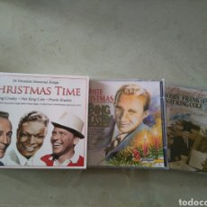 CDs de Música: CHRISTMAS TIME - BING CROSBY - NAT KING COLE - FRANK SINATRA. Lote 113814818
