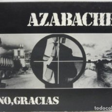 CDs de Música: AZABACHE - NO, GRACIAS - ROCK PROGRESIVO - DIGIPACK - CD - 2006 - NM+/EX+. Lote 113820503