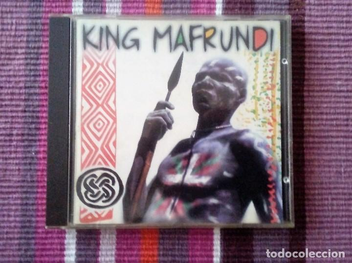CDs de Música: KING MAFRUNDI - ESAN OZENKI RECORDS 1996 - CD 10 TEMAS - Foto 1 - 113829435