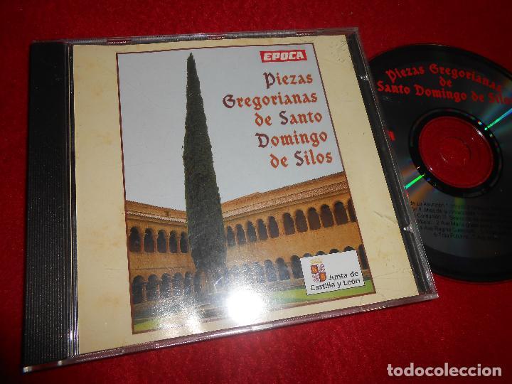 PIEZAS GREGORIANAS DE SANTO DOMINGO DE SILOS CD 1994 ESPAÑA SPAIN CASTILLA Y LEON GREGORIANO (Música - CD's Otros Estilos)