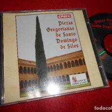 CDs de Música: PIEZAS GREGORIANAS DE SANTO DOMINGO DE SILOS CD 1994 ESPAÑA SPAIN CASTILLA Y LEON GREGORIANO. Lote 113831119
