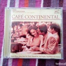 CDs de Música: CAFÉ CONTINENTAL ASTRUD GILBERTO, QUINCY JONES, RAY CHARLES, EDMUNDO ROS, SARAH VAUGHAN.... Lote 113831767
