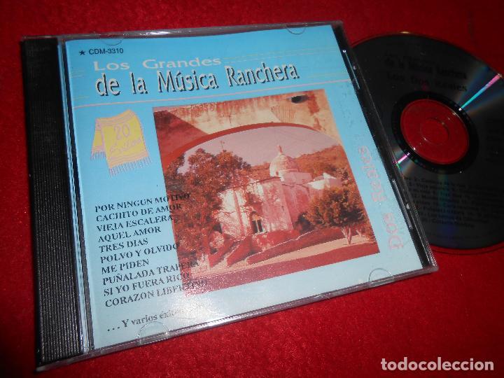 LOS DOS REALES LOS GRANDES DE LA MUSICA RANCHERA CD 1992 EDICION MEXICO (Música - CD's Latina)