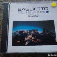 CDs de Música: CD -- BAGLIETTO -- POSTALES DE ESTE LADO DEL MUNDO -- 1992 --. Lote 113840907