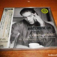 CDs de Música: ALEJANDRO FERNANDEZ ME ESTOY ENAMORANDO CD ALBUM HECHO EN JAPON CON OBI DUO GLORIA ESTEFAN 10 TEMAS. Lote 113847399