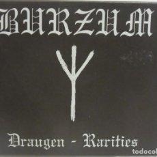 CDs de Música: BURZUM - DRAUGEN - RARITIES - DUALDISC HYBRID - BLACK METAL - 2005 - UK - EX-/EX+. Lote 113902103